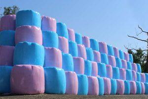 Siloballen, © Pink Ribbon
