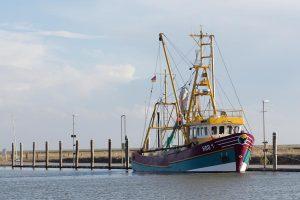Fischerboot auf Hooge, © ballensilage.com