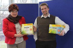 Die Gesprächsteilnehmer Frau Blöthner und Herr Ernst, © ballensilage.com