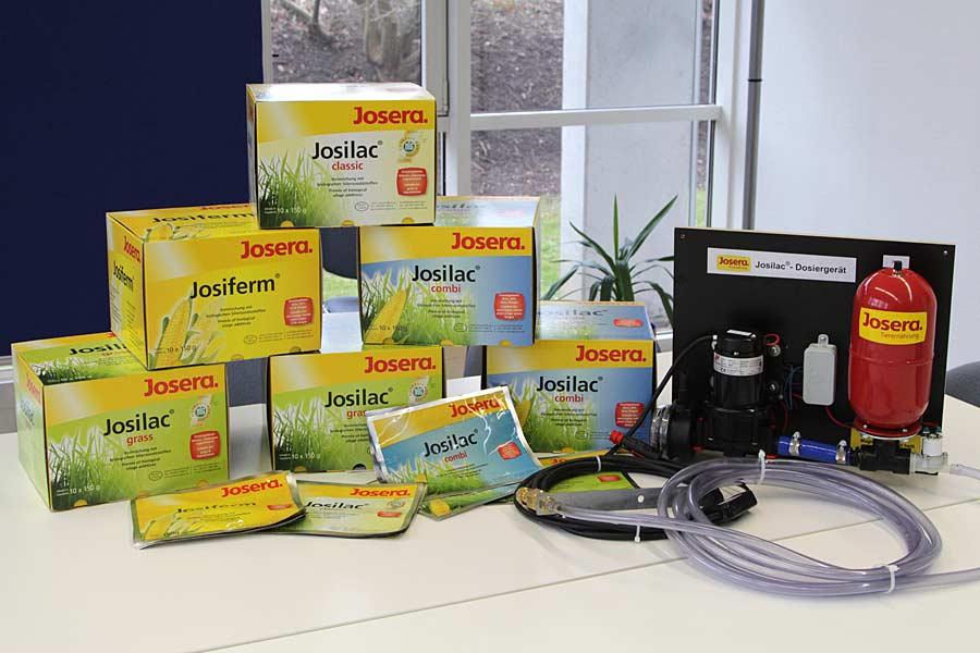 Josera-Siliermittel mit Dosiergerät, © ballensilage.com