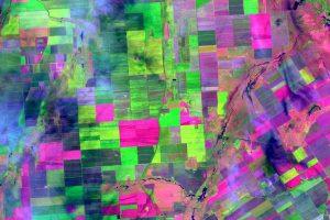 Aufnahme der Raumfahrtmission Sentinel-2, © BayWa