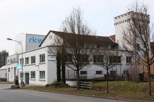 Werk RKW Michelstadt mit neuem Produktionsgebäude (hinten links), © RKW
