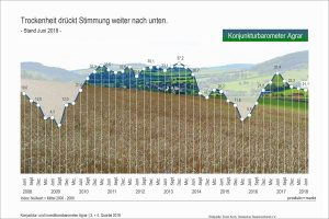 Konjunktur-Barometer Agrar Juni 2018, © DBV