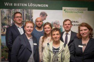 Referentinnen und Referenten des 67. Grünlandtags am 07.02.2019 in Spohle (Kreis Ammerland), © LWK Niedersachsen / Wolfgang Ehrecke