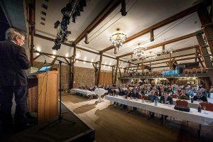 Besucher der Fachtagung in Sehnde, © LWK Niedersachsen / Wolfgang Ehrecke