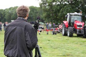 Videoaufnahmen bei einer landwirtschaftlichen Veranstaltung, © getreidekonservieren.de