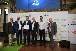Die Maschine des Jahres wurde auf der SIMA Show in Paris verliehen, © Valtra / AGCO