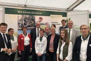 Ministerin Barbara Otte-Kinast besuchte den Messestand der LWK auf der Tarmstedter Ausstellung 2019, © Rudolf Fuchs / LWK Niedersachsen