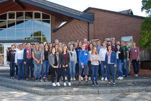 Die neuen Auszubildenden wurden im Rahmen eines Auszubildendentages in Münster begrüßt, © Landwirtschaftskammer NRW