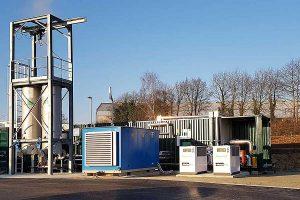 Anlage bei ALTHO in der Bretagne, © Weltec Biopower