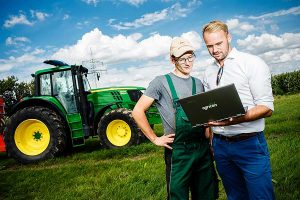 John Deere Announces Strategic Partnership With Agricon GmbH, © John Deere