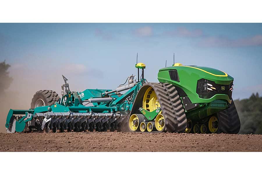 Autonomer Elektrischer Traktor, © John Deere