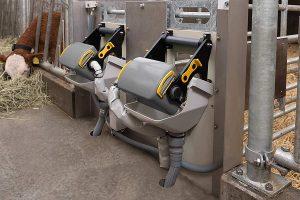 Getränkeautomat HygieneBox, © DeLaval