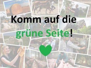 """Unter dem Motto """"Komm auf die grüne Seite!"""" präsentiert die Landwirtschaftskammer Niedersachsen die Vielfalt der Grünen Berufe auf Instagram, © Jantje Ziegeler"""