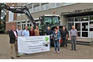 Startschuss für die landwirtschaftliche Unternehmerschule Agribusiness, © Johann-von-Liebig-Schule Vechta