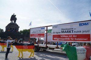 Während der Agraministerkonferenz in Koblenz, © BDM