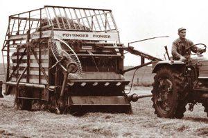 Der Ladewagen Pionier, © Pöttinger