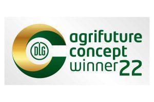 Logo 'DLG Agrifuture Concept Winner', © DLG