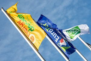 Messeflaggen, © DLG