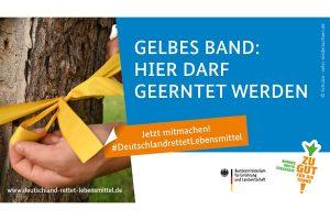 Aktionswoche 'Gelbes Band'