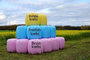 Bunte Ballen von Trioworld generieren Spenden und Aufmerksamkeit für Krebserkrankungen, © Trioworld