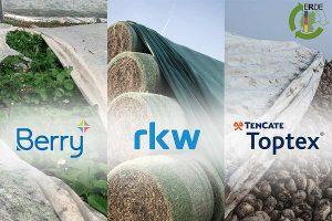 Abdeckvliese gehören neben Silo-, Stretchfolien, Ballennetzen, Pressengarnen, Lochfolie und Spargelfolie jetzt zu den landwirtschaftlich genutzten Kunststoffprodukten, die von der Initiative ERDE gesammelt werden, © ERDE
